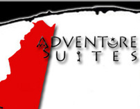 Adventure Suites: Logo, Website Design and Print Ad