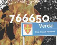 766650 Verdal. Graphic Design Exam Spring 2011.