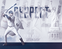 "Derek ""Re2pect"" Jeter - Graphic"