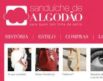 Sanduíche de Algodão (website)