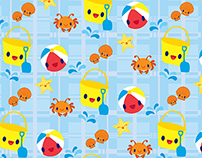 Aquatic & Ocean Themed Prints Fabric & Surface Design