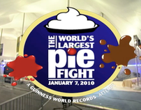 Shaw Floors presents The World's Largest Pie Fight