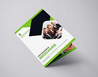 Bi-Fold Corporate Brochure(Size:A4 & US LETTER)