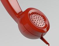 Phone handle model