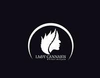 Lady Cannabis Logo Design