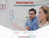 Digital Marketing Agency. Pristine PR