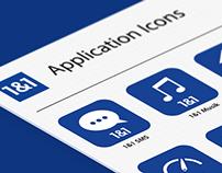 1&1 App Icons