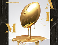 PALMS // Super-bowl ILIILMMXVIII / Print OOH