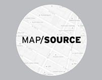 UX Design for MapSource Concept