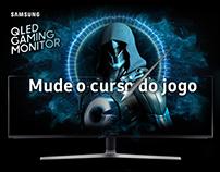 Monitor Curvo Game QLED - Samsung