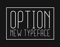 OPTION Grotesque Typeface - FREE Style