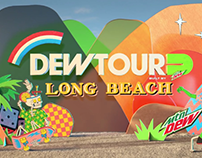 Dew Tour Intro Bumper for NBC