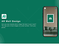 AR WALL APP DESIGN AND DEVELOP