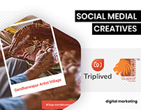 Social Media for Gujarat Tourism by BrandzGarage