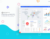 Internet of Pests (Dashboard UI)