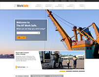 NTWorkSafe website