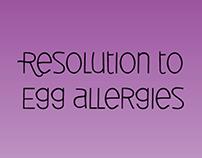 Data Visualization - Egg Allergies