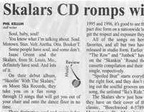Skalars CD romps with soul, swing-laden sound