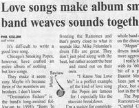 Love songs make album smoke; band weaves sound together