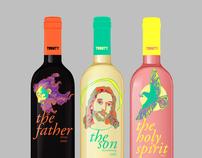 Trinity Winery & Viticulture Corporate ID Design
