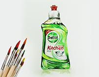 Product Drawing_Dettol Healthy Kitchen