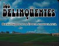 Cover desing Los delinqüentes BEI edi. vinilo 2008