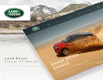 Land Rover Web Site
