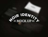 Noir Identity Mock-Up