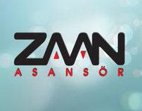 Zaman Asansor - Lift Logotype