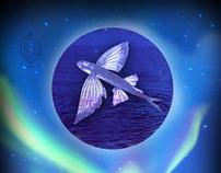 Airborne or Aquatic Poster