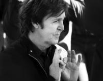 Sir Paul McCartney getting his star in Hollywood