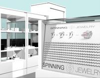Spinning Jewelry- 3D Kiosk Design