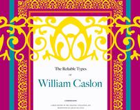 Caslon Monograph