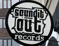Sound It Out Records - Shop Front redesign