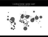 Info graphic / Senior Project /Lastfm ethnic music map