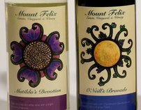 Mount Felix Wine Labels