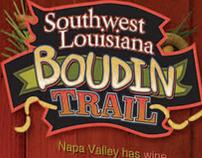 """Boudin Trail"" 4 Panel Gatefold Brochure"