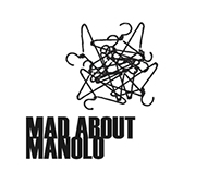 Mad About Manolo: Logo, Branding, Web Graphics, Print
