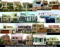 DESIGN OF CONTEMPORARY HOUSING PROJECTS.