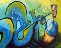 Graffite em Concreto
