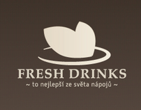Fresh Drinks - Website, logo