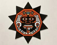 Artifact - book about Aztecs