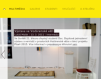 Studio of Multimedia Design, Pilsen - Website