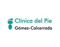 Remake branding Clínica del pie Gómez-Calcerrada