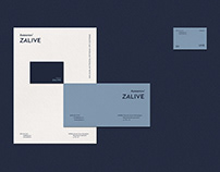 Akvilon Zalive. Residental complex brand identity
