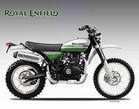 ROYAL ENFIELD GURKHA 400