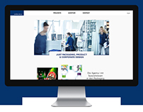 justblue.design Website Relaunch