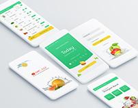 Vegetables Ordering Mobile App