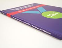 Half Marathon Book Design and Layout