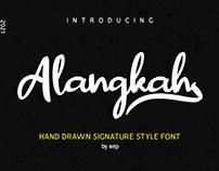 Alangkah Free Font